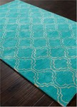 Jaipur Baroque BQ24 Hampton Tile Blue & Fog Closeout Area Rug
