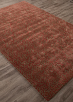 Jaipur Baroque BQ32 Burney Timber Wolf & Rose Wood Closeout Area Rug