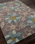 Jaipur Brio BR04 Daisy Chain Taupe Grey/Taupe Grey Closeout Area Rug - Spring 2014