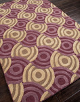 Jaipur Brio BR11 Spin Cycle Amethyst/Amethyst Closeout Area Rug - Fall 2013