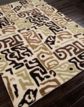 Jaipur Brio BR12 Tiki Light Gold/Light Gold Closeout Area Rug - Fall 2013