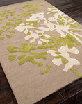 Jaipur Brio BR23 Power Plant Soft Ivory/Soft Ivory Closeout Area Rug - Fall 2013