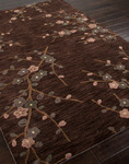 Jaipur Brio BR24 Cherry Blossom Deep Charcoal/Deep Charcoal Closeout Area Rug - Fall 2013