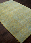 Jaipur Britta Plus BRP03 Dark Citron & Storm Blue Area Rug