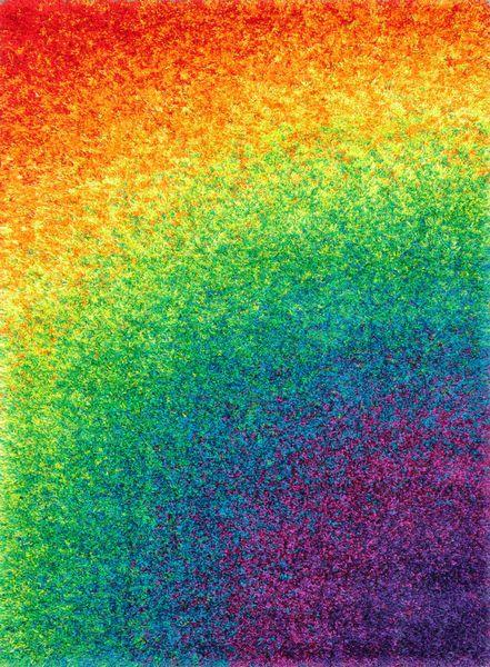 Loloi Barcelona Shag Bs 01 Rainbow Area Rug