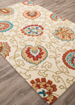 Jaipur Blossom BSM10 Elliot Almond Oil & Bombay Brown Area Rug