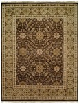 Allara Burke UR-1006 Brown/Gold Area Rug