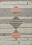 Jaipur Carolina CAL02 Meyer Light Gray & Dusty Coral Area Rug