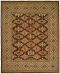 Allara Serenity ER-1019 Brown/Green Closeout Rug