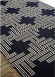 Jaipur Catalina CAT41 Mineral Black Iris & Pebble Area Rug