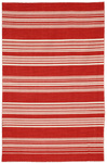Jaipur Coastal Living Dhurries CC04 Sanibel Mars Red/Mars Red Closeout Area Rug