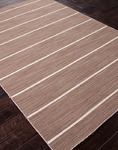 Jaipur Coastal Living Dhurries CC11 Cape Cod Grey Brown/Grey Brown Closeout Area Rug - Spring 2014