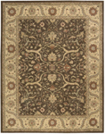 Nourison Charleston CH01 BRN Brown Closeout Area Rug