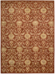 Nourison Charleston CH04 RUS Rust Closeout Area Rug