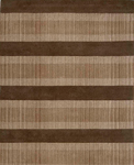 Jaipur Coastal Living Hand-Tufted CH12 The Right Track Brown/Beige Closeout Area Rug