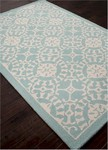 Jaipur Coastal Living Hand-Tufted CH28 Providence Sea Blue/Beige Area Rug