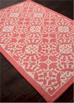 Jaipur Coastal Living Hand-Tufted CH29 Providence Red/Beige Area Rug
