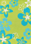 Surya Chic CHI-1004 Lime/Sky Blue Closeout Area Rug - Fall 2011