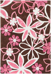 Surya Chic CHI-1022 Chocolate/White Closeout Area Rug - Fall 2013