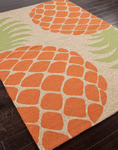 Jaipur Coastal Living Indoor-Outdoor CI17 Pina Colada Nickel/Nickel Closeout Area Rug - Spring 2014