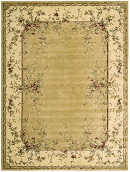 Nourison Chambord Cm03 Gld Gold Closeout Area Rug Rugs A