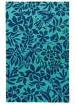 Jaipur Coastal Lagoon COL54 Kokomo Sea Green & Dress Blues Area Rug