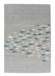 Jaipur Coastal Resort COR03 Schooled Celestial Blue & Snow White Area Rug