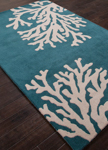 Jaipur Coastal Seaside COS03 Bough Atlantic Deep & Silver Birch Area Rug