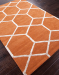 Jaipur City CT12 Chicago Orange Spice Closeout Area Rug