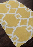 Jaipur City CT45 Regency York Yellow & Bright White Closeout Area Rug