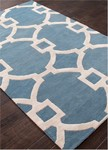 Jaipur City CT53 Regency Gardenia & Captain's Blue Closeout Area Rug