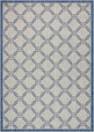 Nourison Country Side CTR02 IVORY BLUE Area Rug