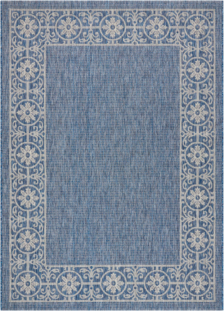 Nourison Country Side Ctr03 Denim Area Rug Rugs A Bound