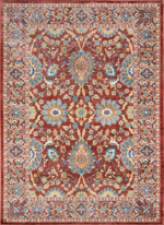 Momeni Cypress CYP-01 Red Area Rug