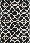 Feizy Cetara 4106F Black/White Area Rug