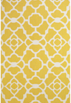 Feizy Cetara 4106F Yellow/White Area Rug