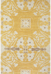 Feizy Coronado 0523F Yellow Area Rug