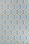 Bashian Hampton D105 FW10 Light Blue Closeout Area Rug