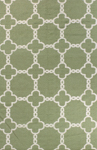 Bashian Hampton D105 FW7 Light Green Closeout Area Rug