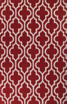 Bashian Hampton D105 FW6 Red Closeout Area Rug