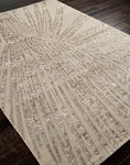 Jaipur Downtown By Raymond Waites DT03 Fan Out Antique White/Antique White Closeout Area Rug - Spring 2014