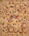 Barclay Butera Lifestyle Dynasty DYN02 OCHRE Empire Ochre Area Rug