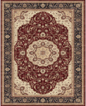 Feizy Daria 3982F Red/Navy Closeout Area Rug