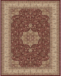 Feizy Daria 3983F Red/Cream Closeout Area Rug