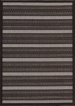 Nourison Eclipse ECL01 BLK Black Closeout Area Rug