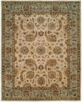 Kalaty Empire EM-294 Ivory/Light Blue Area Rug