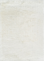 Momeni Enchanted Shag ENS-01 White Area Rug