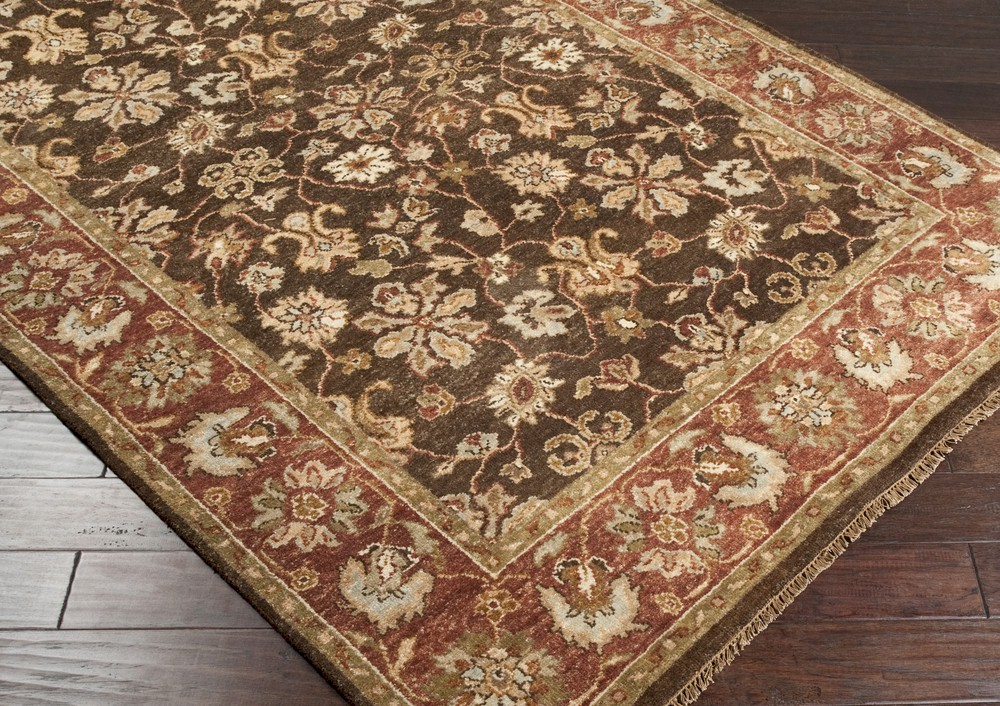 Surya Estate Est 10506 Brown Closeout Area Rug Fall 2012