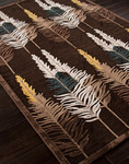 Jaipur Fables FB22 Bewitching Brown/Brown Closeout Area Rug - Fall 2013