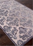 Jaipur Fables FB38 Majestic Chenille Drizzle & Steel Gray Area Rug